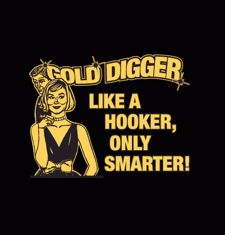 To my gold diggers tots of a black girl